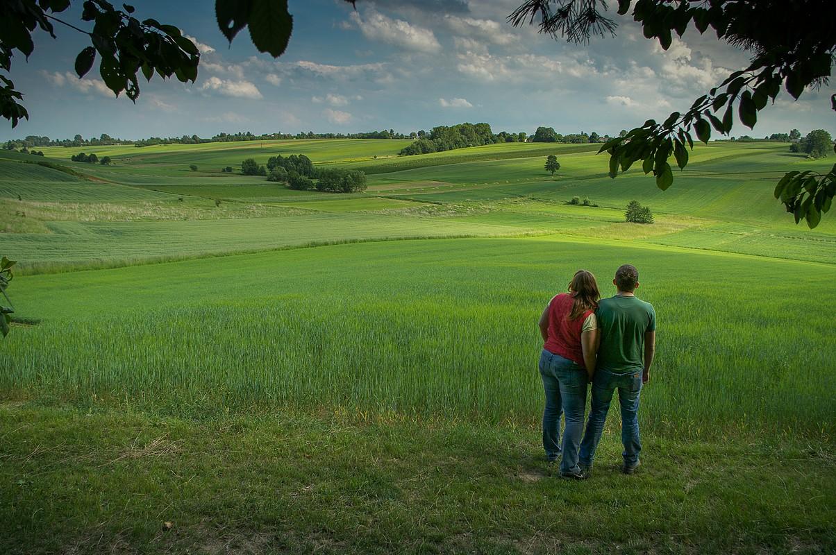 Świętokrzyskie pola, fotograf Paweł Litwin