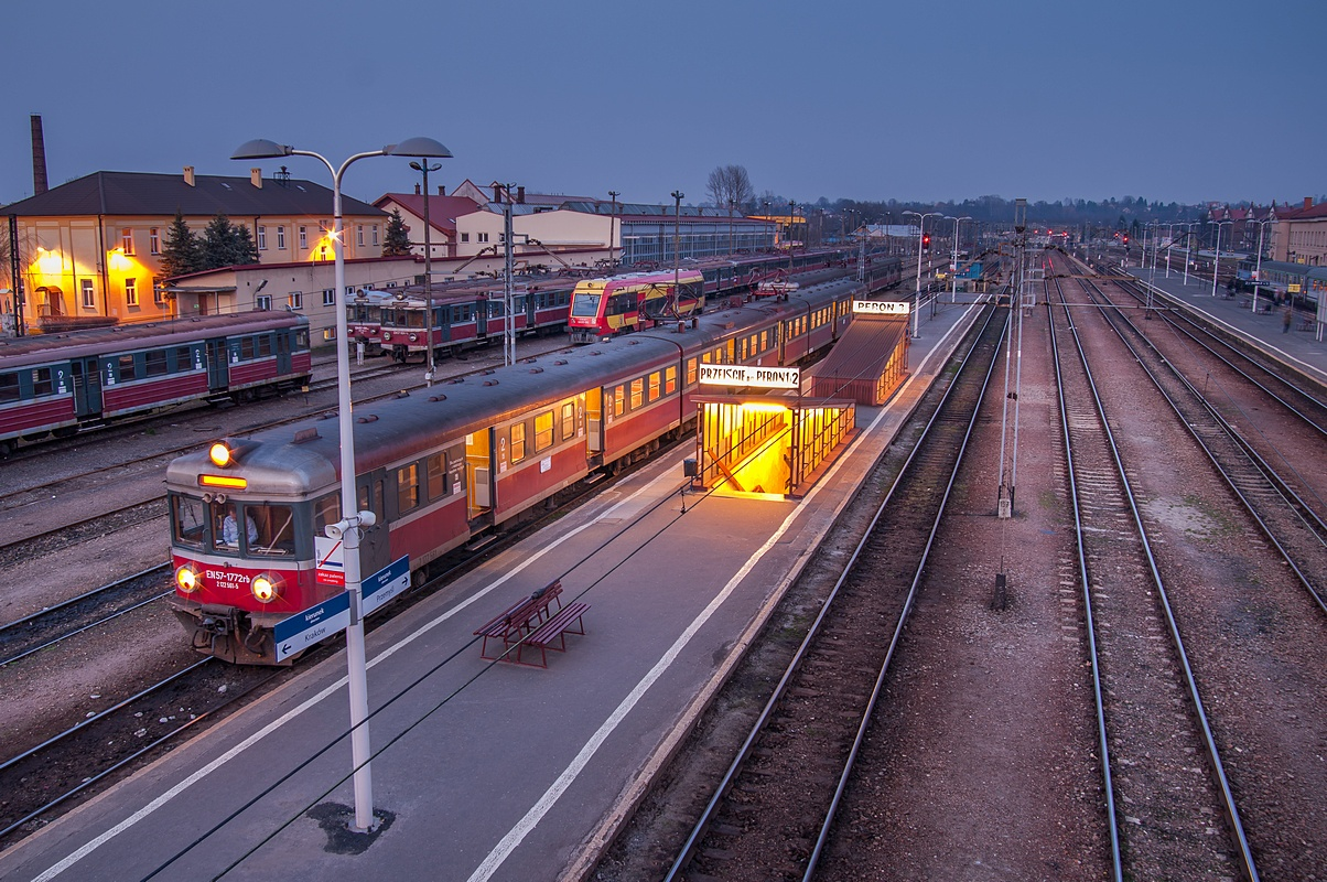 Dworzec PKP Rzeszów fotograf Paweł Litwin