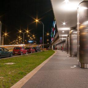 Galeria Rzeszów nocą, fotograf Paweł Litwin