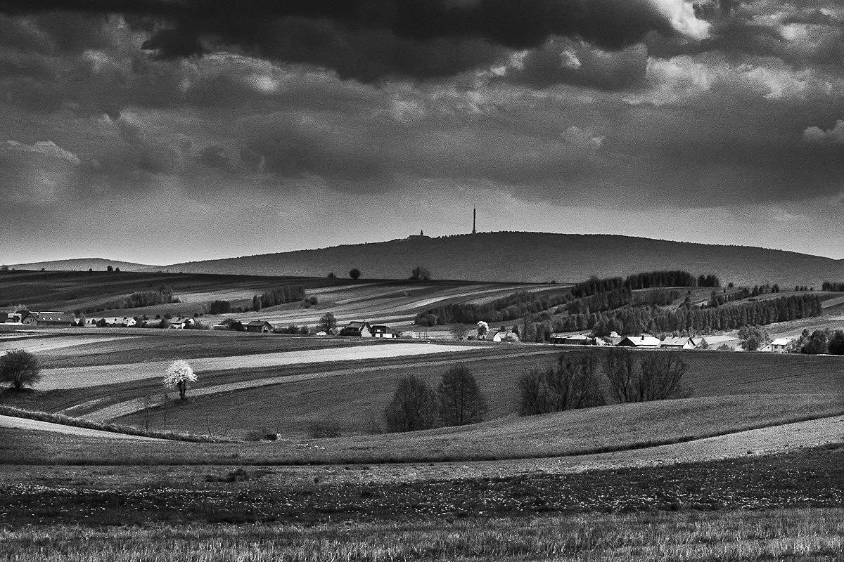 Widok na Święty Krzyż, fotograf Paweł Litwin