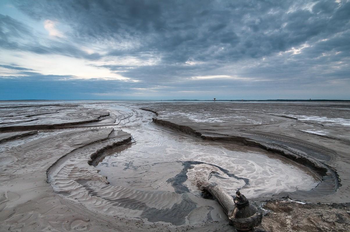 Zbiornik Żelazny Most, składowisko odpadów poflotacyjnych KGHM, fotograf Paweł Litwin