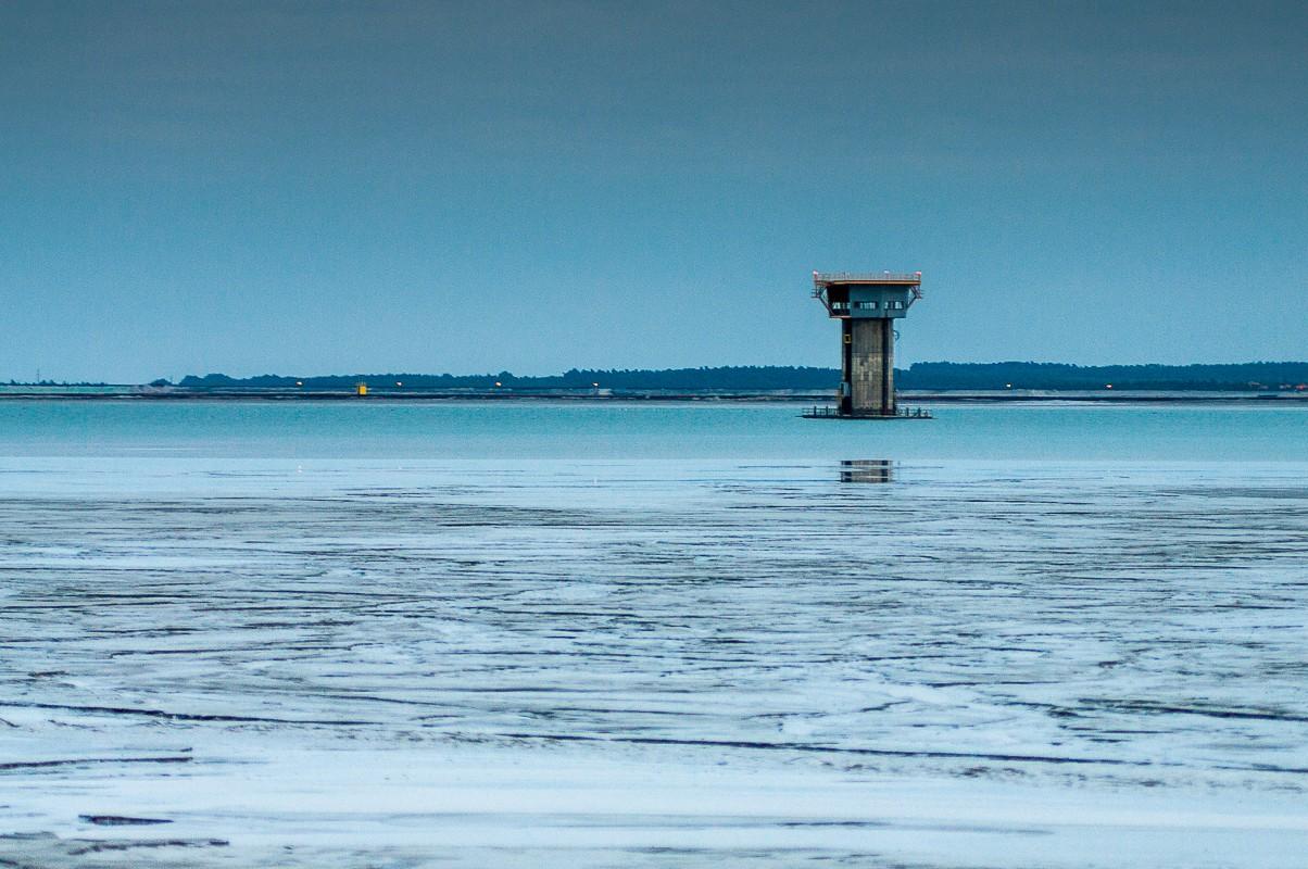 Zbiornik Żelazny most, KGHM, składowisko odpadów poflotacyjnych, fotograf Paweł Litwin