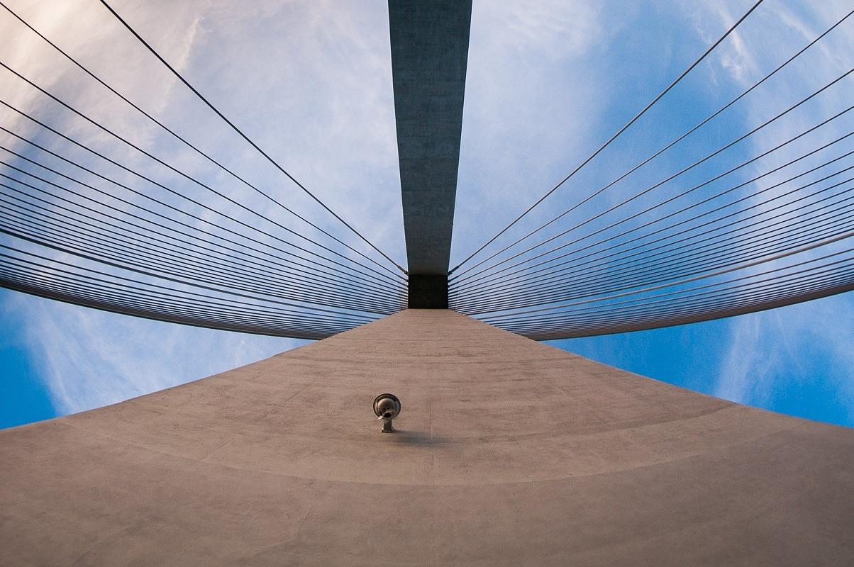 Most Mazowieckiego w Rzeszowie, fotograf Paweł Litwin