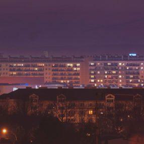 Rzeszów nocą, fotograf Paweł Litwin