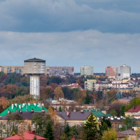 Panorama Ostrowca Świętokrzyskiego, fotograf Paweł Litwin